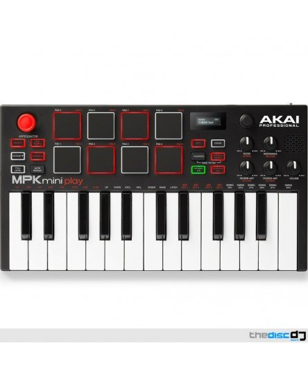 Akai MPK Mini Play Standalone Synth Keyboard USB Controller, MPC, Pro Tools