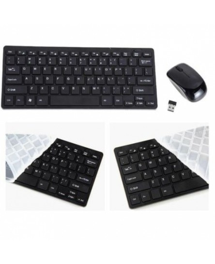 Keyboard & Mouse Set Mini for Playstation 4 PS4 Play Station PS BK UK