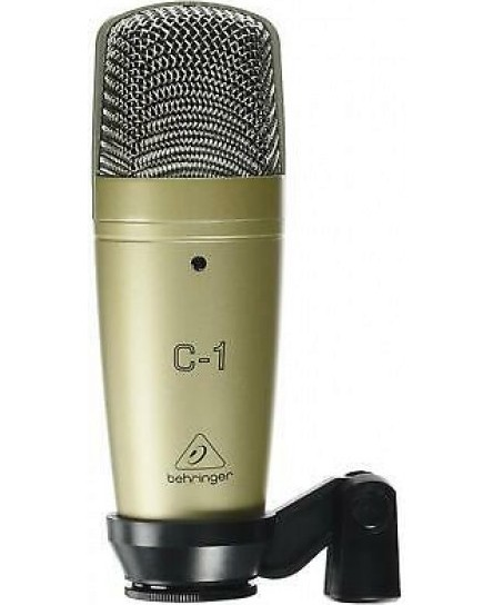 Condenser Microphone C1 Studio Live Audio Quality Equipment High Resolution New